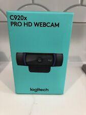 Logitech C920x Pro Stream Webcam - Black *BRAND NEW* FAST SHIPPING!! IN HAND