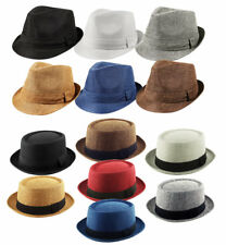K.I.Co.HEISENBERG BREAKING BAD / TEXTURED PORK PIE / CLASSIC TRILBY /  CAP HAT