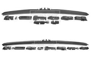 Pair Wiper Blades Hybrid Left/Right FOR GS I 3.0 4.0 4.3 97->04 300 400 430 BB