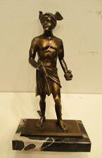 Bronzefigur / Götterbote / Hermes / griechische Mythologie / Kaufleute / Dieb