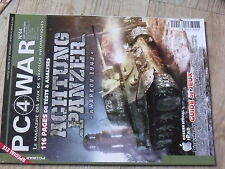 $$ Revue PC 4 War N°44 Achtung Panzer  Command & Conquer IV  iPad  Mount & Blade