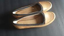 LIZ CLAIBORNE Womens Flat Shoes Size 7.5 Nude