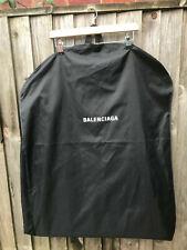 BALENCIAGA long dress garment bag carriers travel bag in black