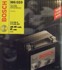 Bosch M6 020 Motorradbatterie Batterie 12AH Yamaha  YT14B-4   YT14B-BS