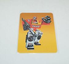 Blaster Card 19 Variant Color Transformers Action Trading Cards 1985 G1
