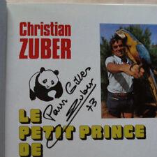 Le Petit Prince de Ceylan Sri Lanka Christian ZUBER éd G.P. DEDICACE