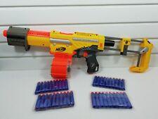 Nerf N-Strike Alpha trooper Cs-18 Gun Blaster with Ammo Barrel +40 Bullets