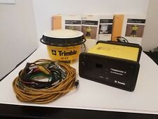 Trimble 4800 GPS Base Rover Receiver With Bag and Trimmark II Accessories