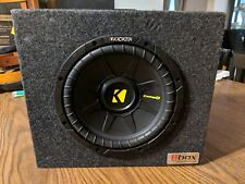 Kicker 40CWD84 8 Inch Comp D Subwoofer with 8box