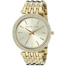 Women's Watch Michael Kors MK3191 Darci Dress Watches Quartz Gold Tone