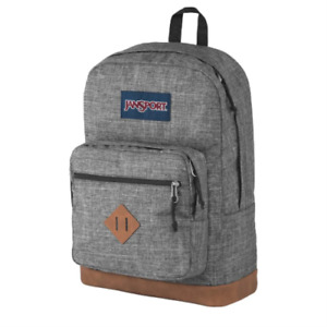 NEW JanSport CITY VIEW Heathered Gray Backpack Book Bag