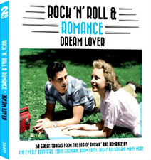 ROCK AND ROLL & ROMANCE ~ DREAM LOVERS NEW + SEALED 2 CD 50 VINTAGE JUKEBOX HITS