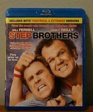 Step Brothers (Unrated) Blu-Ray Disc!