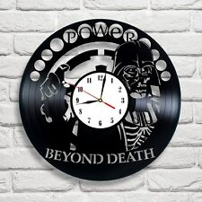 Darth Vader Skull SW-10 design vinyl record clock Shipping after 2 of March !