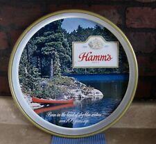 Vintage Hamm'S Beer Advertising Metal Tray