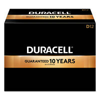 Duracell CopperTop Alkaline Batteries with Duralock Power Preserve Technology D