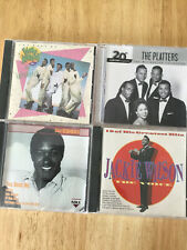 4CDs 50's Artists Sam Cooke, Jackie Wilson, The Platters, Anthony & Imperials