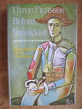 Three Picassos Before Breakfast SIGNED by ANNE-MARIE STEIN Story of Art Forgery