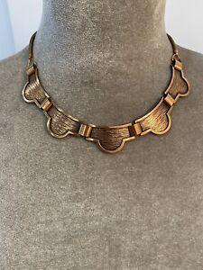 Vintage Rebaje Copper Necklace