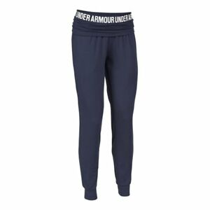 * Under Armour Women's Downtown Knit Jogger Pants, Blue Knight, SIZE Large