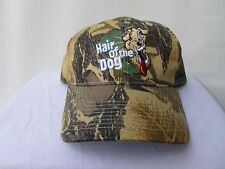 Mens Camoflage Camo Hat Cap Hair Of The Dog Healthy Energy Drink New Adjustable