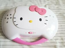 Hello Kitty Portable CD Karaoke System And CD Player KT2003B Collectible Item