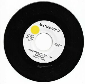 BOB BRADY  - MORE, MORE, MORE OF YOUR LOVE / ASTORS - CANDY  - SIXTIES GOLD - EX