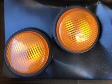 R33 Gtr Skyline Nissan Jdm Oem Amber Lens Signal Turn Lights Pair Front Blonkers
