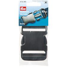 Prym Steckschnalle Stegbreite 50 mm  schwarz Kunststoff Steckschnallen  416380