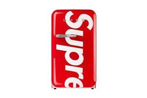 Supreme SMEG Mini Fridge Refrigerator Red IN HAND BRAND NEW