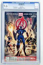 Avengers 2013 # 1 CGC 9.6 Dustin Weaver Cover Marvel