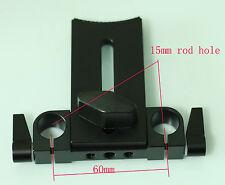 New Lens Support Mount Rod Clamp Holder Bracket for 15mm Rod Rail Support System