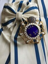 Iran Persia Pahlavi Order THE PLEIADES HAFT PAYKAR Grand Cross Medal Badge Sash