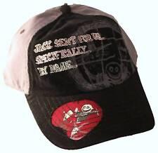 NIGHTMARE BEFORE CHRISTMAS BASEBALL CAP Tim Burton Disney Movie Adult Hat NEW