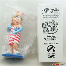 Muppets Palisades 2003 Wizard World Miss Piggy All-American Patriotic Piggy