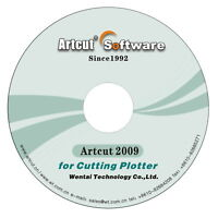 Artcut software 2009 for Sign Making Vinyl Cutter Plotter Creation Refine Roland