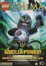LEGO Characters GORILLA POWER Legends of Chima Magazine Comics