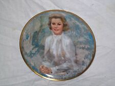 """Collectible The Hamilton Collection """"Princess Grace"""" 1983 11 inch Plate"""