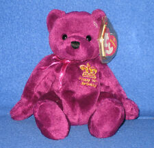 TY MAJESTIC the BEAR BEANIE BABY - MINT EUROPEAN EXCL