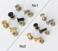 2 x 3 &5 Way Switch Screws Or 2 x Scratch Plate Bracket Screws And Nuts SC9 SC10