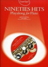 Guest Spot: Nineties Hits Playalong for Flute by Music Sales Ltd (Paperback, 1998)