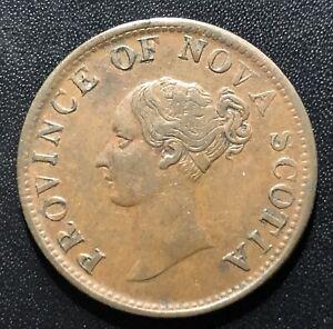 Canada (Nova Scotia) 1840 Half Penny Token: BR874/C#293