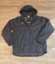 Nike Windrunner Men's Jacket Hooded Full Zip Windbreaker Charcot gray L