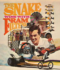 """Don The Snake Prudhomme Wins With Fram Filters 8""""x10"""" Photo"""