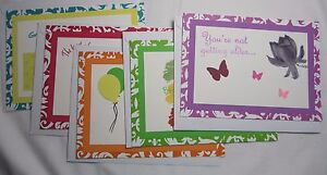 Close to my Heart Handmade Birthday Cards Set 5 Funny Lucille Ball Chili Davis