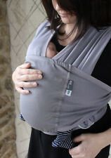 Caboo Lite Baby Carrier Sling Grey NCT RRP £54