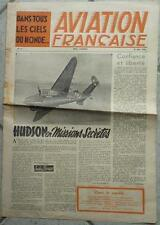 Aviation française n°17 - 1945 - Hudson - Les Ailes silencieuses -