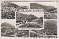 Aberdeenshire postcard - Devils Elbow, Braemar (Multiview showing 5 views) - RP