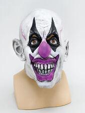 Effrayant masque de clown psycho cirque batman joker halloween déguisements