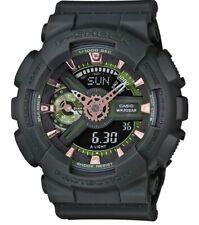 Casio G-Shock S Series * GMAS110CM-3A Military Green Matte Resin Watch for Women